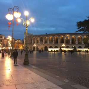 Verona Night street view adventure travel
