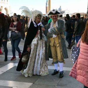 Venice Carnival Couple small group travel