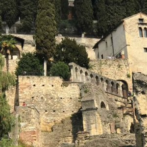 Verona Roman Ruins Street View Adventure Travel