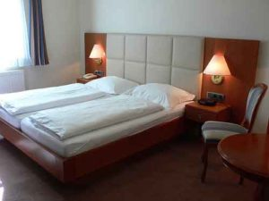 European double beds local travel